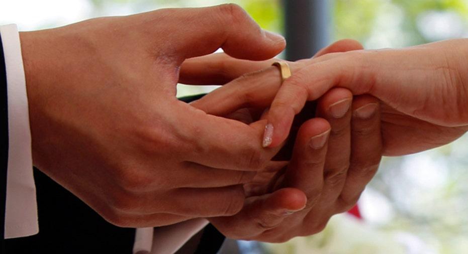 Wedding Ring Ceremony Reuters