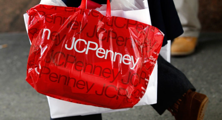 JCPenney Apparel Retail Shopping Bag
