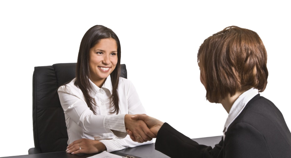 job interview or business meeting good