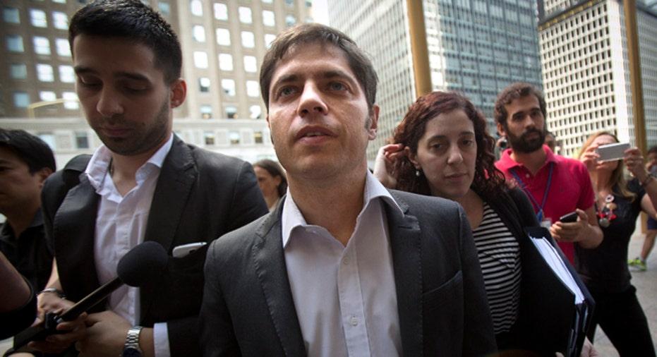 ARGENTINA-DEBT-KICILLOF