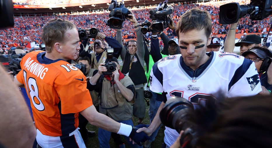 Peyton Manning, Tom Brady FBN