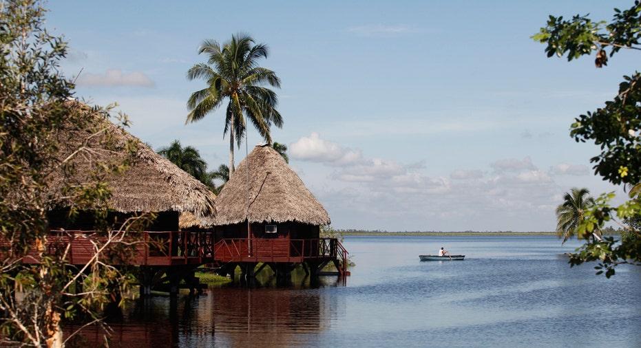 Cuba, Zapata Swamp Biosphere Reserve Park, travel, vacation