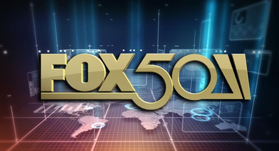 FOX50 Logo with Background