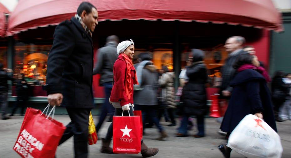 Holiday Shopping Up