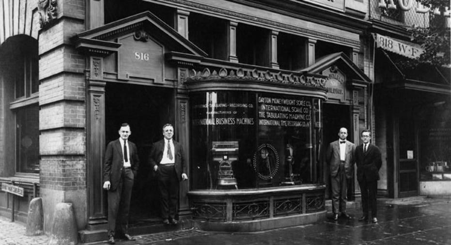 IBM - 1924 Renamed IBM