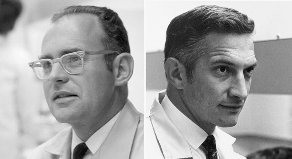 Intel Co-Founders Moore and Noyce