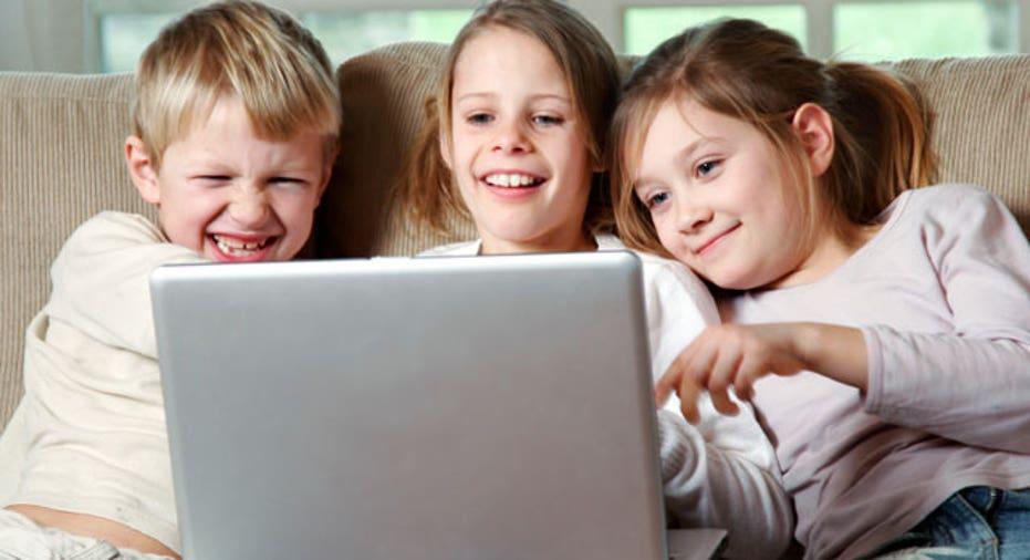 Kids, Children, laptop, computer