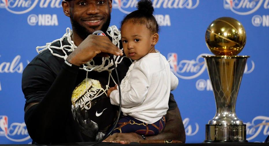 LeBron James NBA Finals