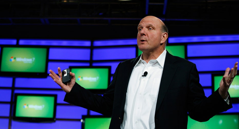 Microsoft Ballmer at Windows 7 Launch