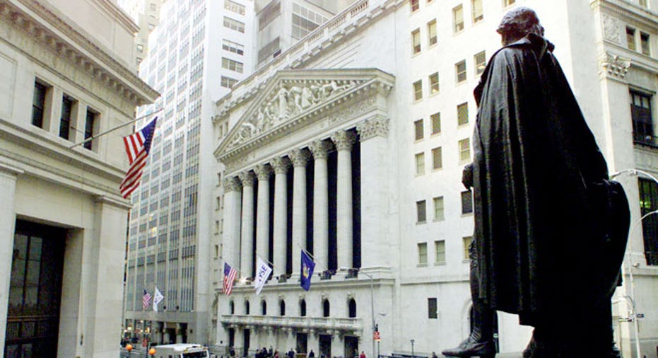 NYSE Washington Statue