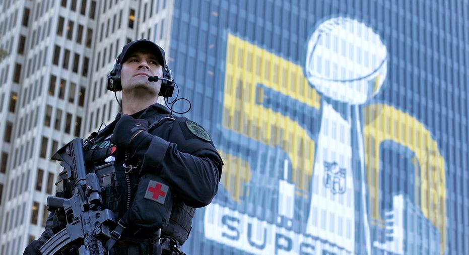 Super Bowl 50 Security