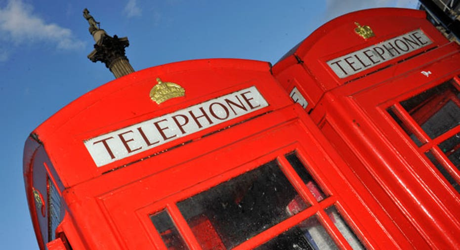 Telephone Booths in London, England