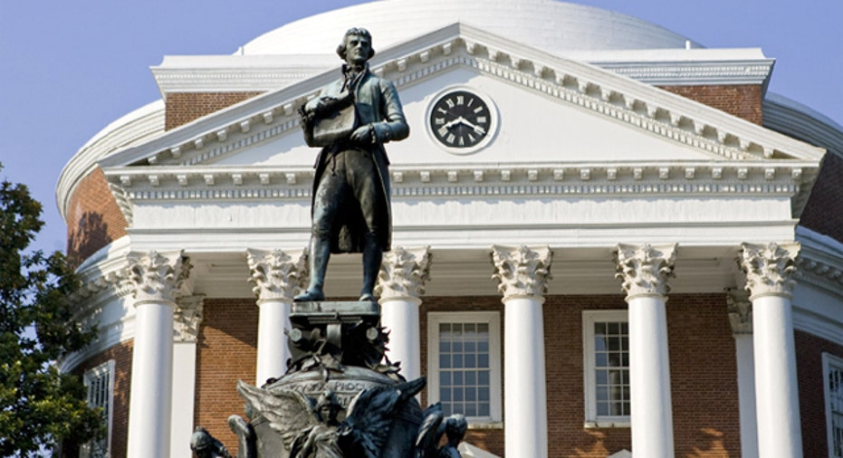 University Virginia Charlottesville Campus, PF Slideshow
