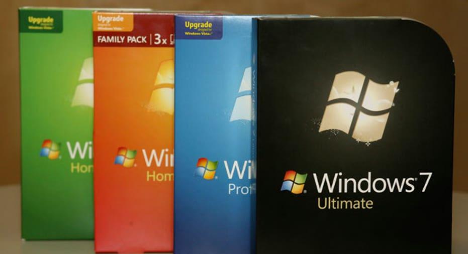 Windows 7 Versions on Display