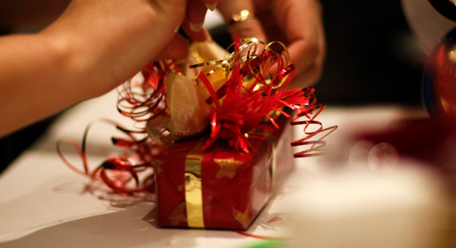 Wrapped Gift Holiday Christmas