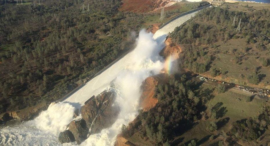 california dam spillway fbn