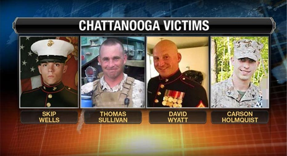 chattanooga marines victims
