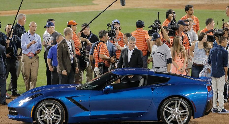 Chevrolet Corvette MLB baseball FBN