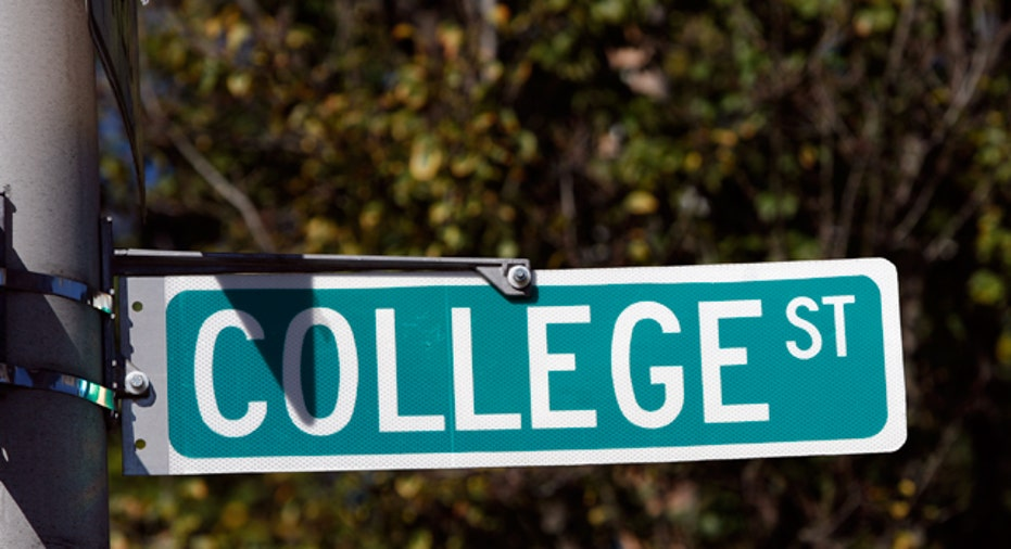 College Street Sign, PF