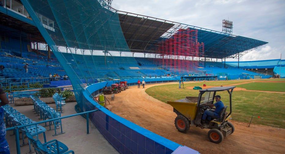 Cuba baseball stadium seats FBN