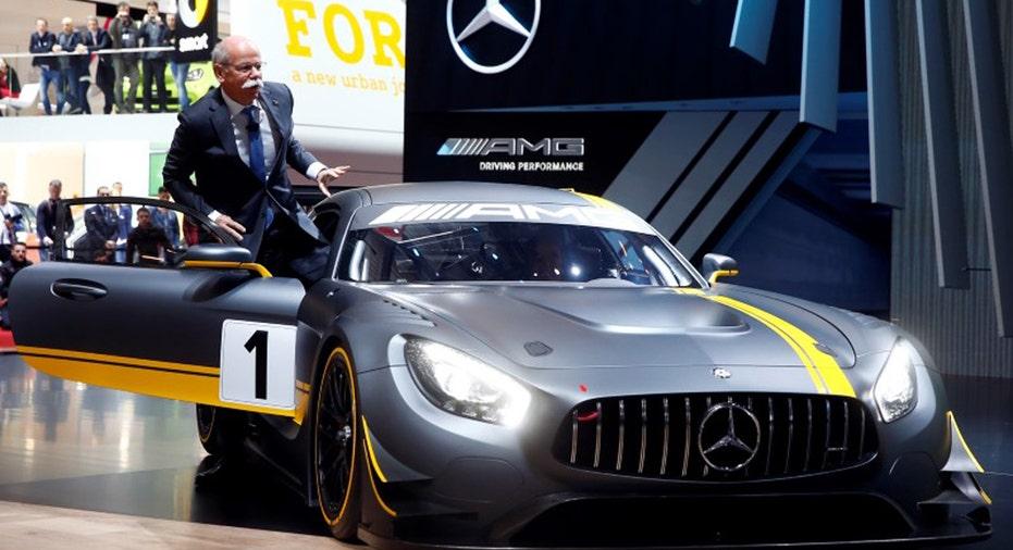 Dieter Zetsche, Daimler CEO FBN