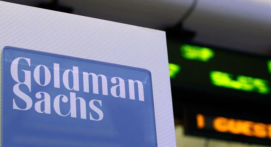 Goldman Sachs Sign NYSE