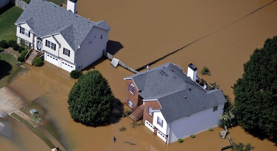 USA-GEORGIA/FLOODS