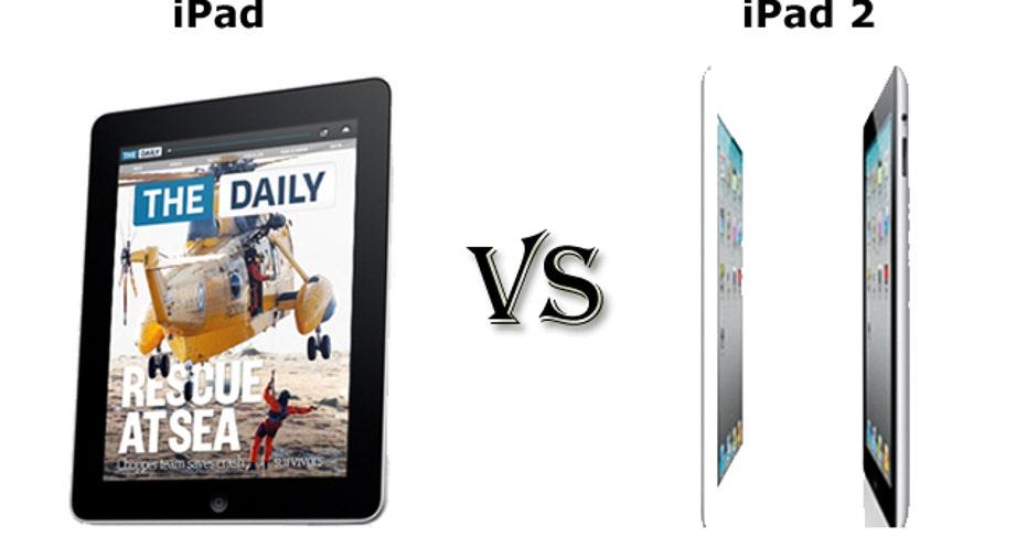 iPad vs. iPad 2, slideshow