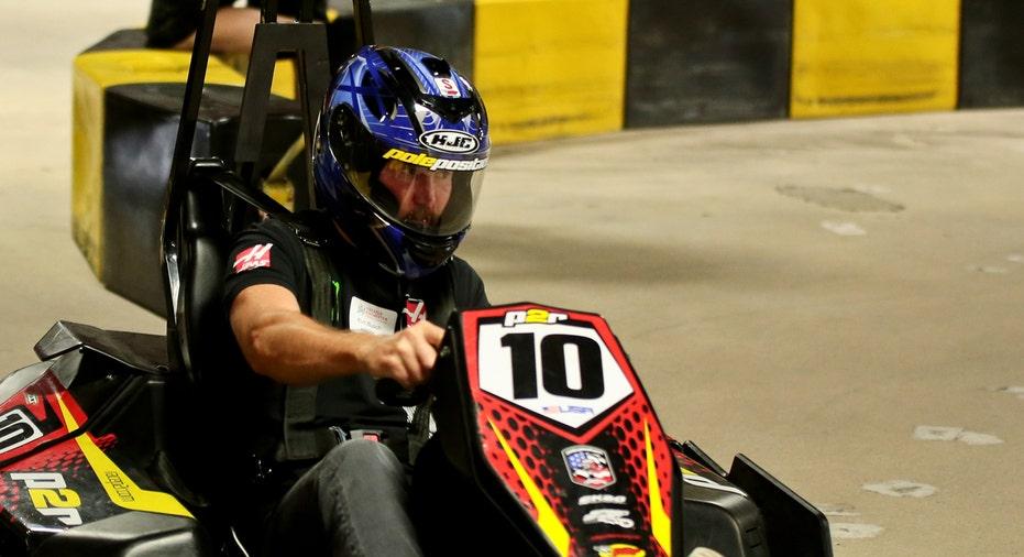 Kurt Busch go-kart NASCAR FBN