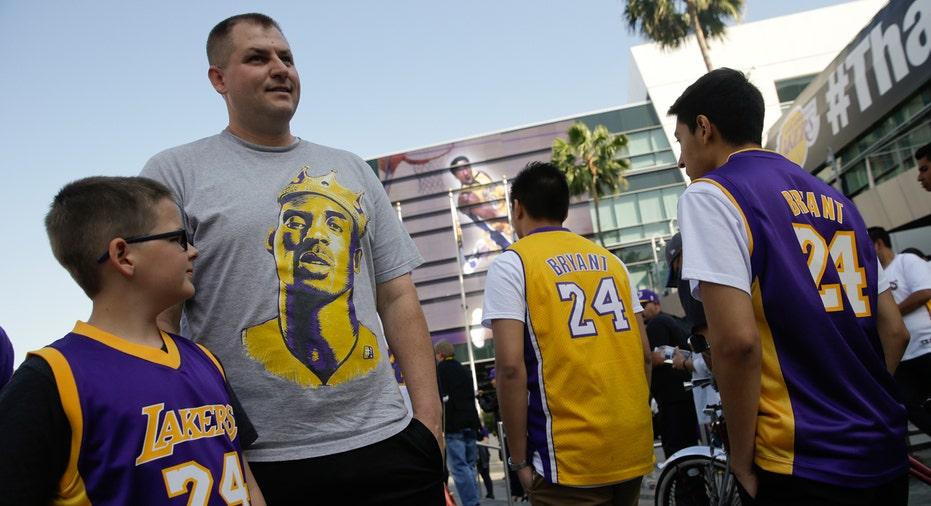 Lakers Fans, Kobe Bryant