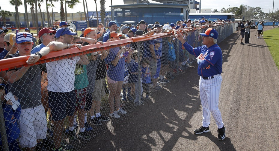 Mets spring training 2016 Terry Collins FBN baseball