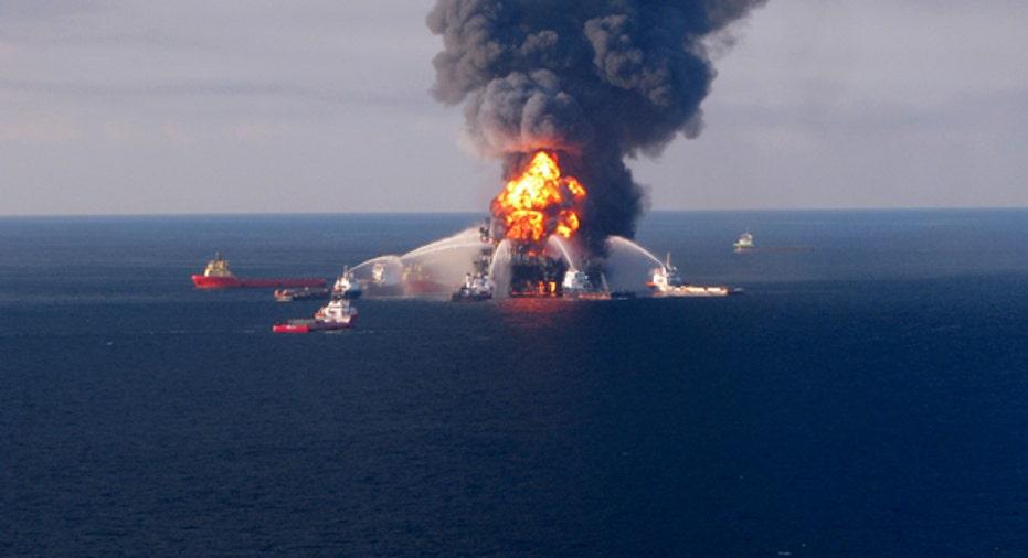 Oil Rig Blaze