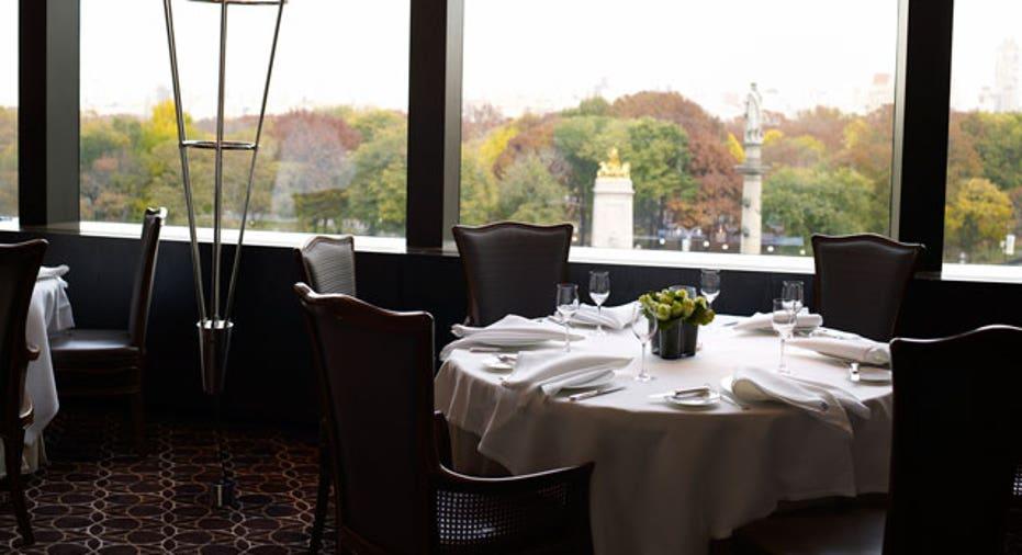 Table at Per Se courtesy of Per Se