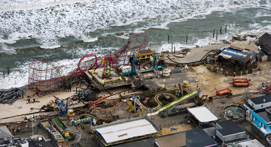 Hurricane Sandy Seaside Park