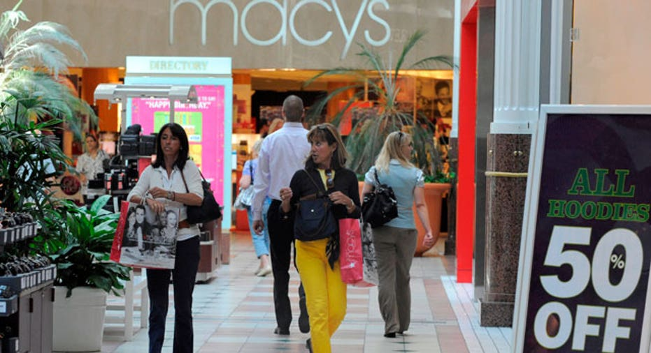 Shoppers in Arlington, VA, Reuters