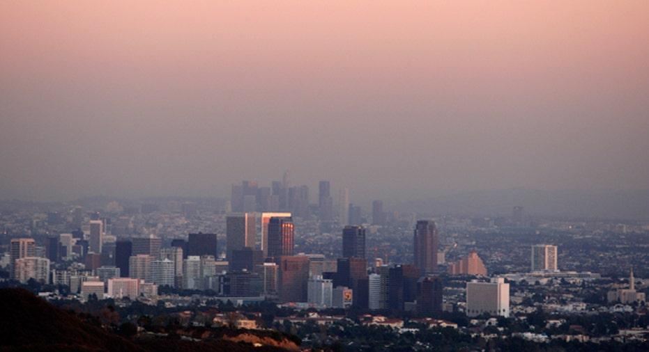 LOS ANGELES-SMOG