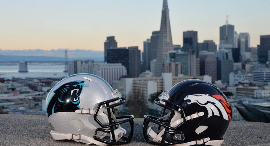 Super Bowl Helmets FBN
