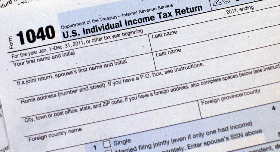 Tax Form, 1040, taxes