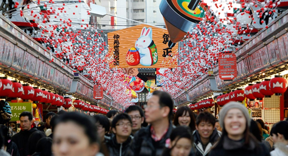 Tokyo Shopping District, Reuters