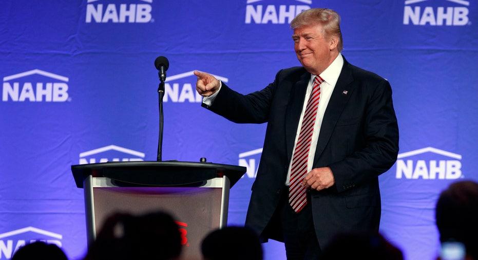 Donald Trump NAHB speech FBN
