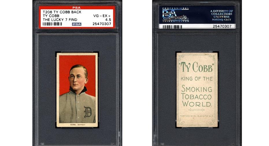 Ty Cobb Baseball Cards FBN