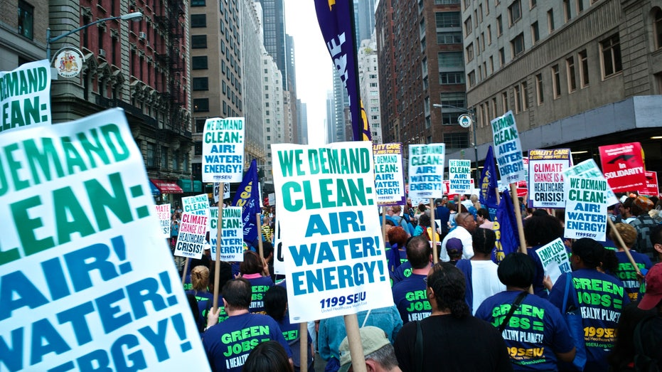 People's Climate Change March New York