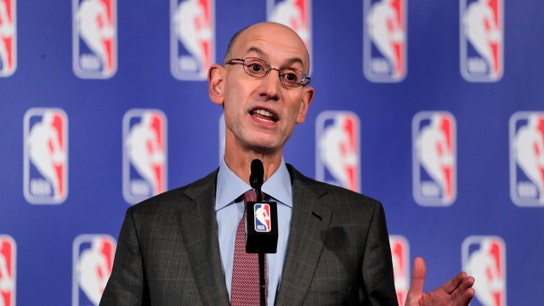 NBA commissioner backs players who protested gun violence after Thousand Oaks shooting