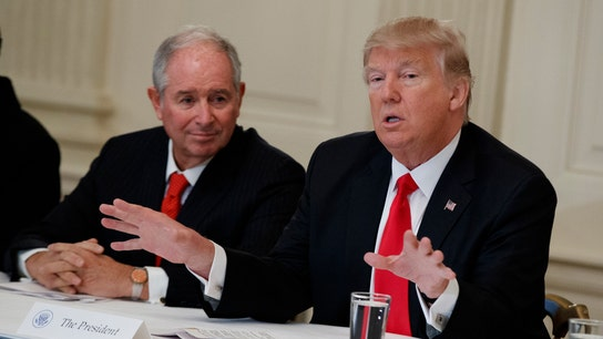 Blackstone's Schwarzman: Trump tax overhaul a welcome boost