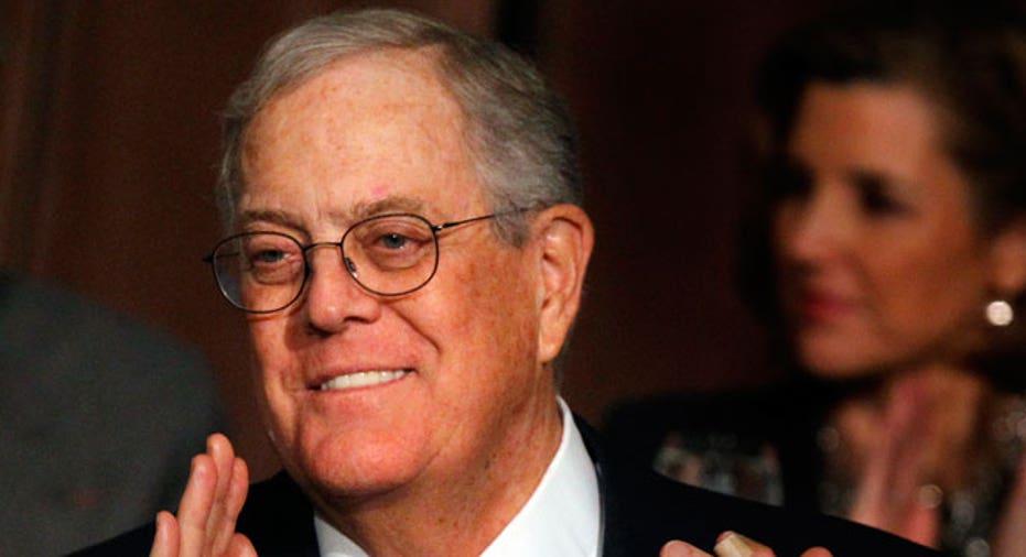 David Koch, Koch Industries