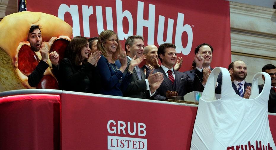 Grubhub at Stock Market AP FBN