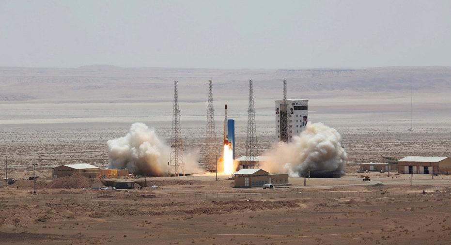 Iran Satellite Rocket Launch AP FBN