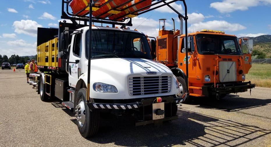 Autonomous crash truck FBN