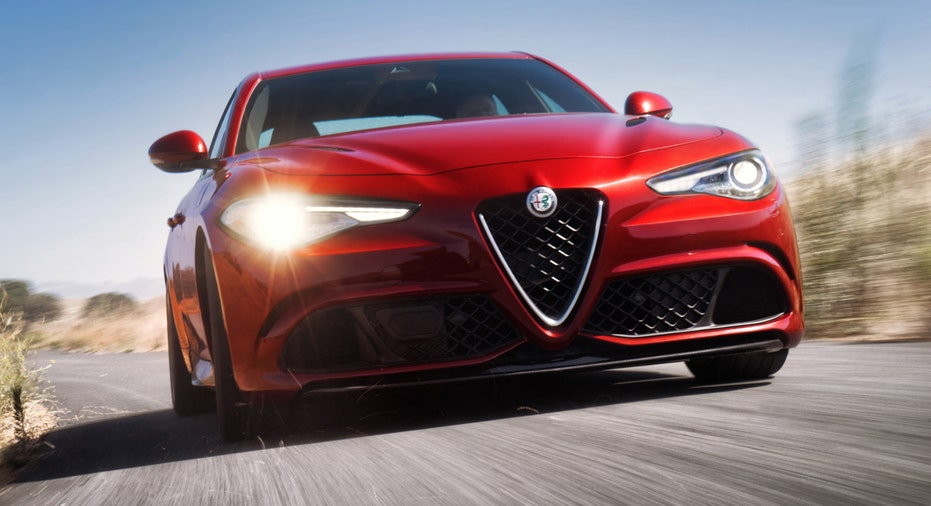 Alfa Romeo Giulia grille FBN
