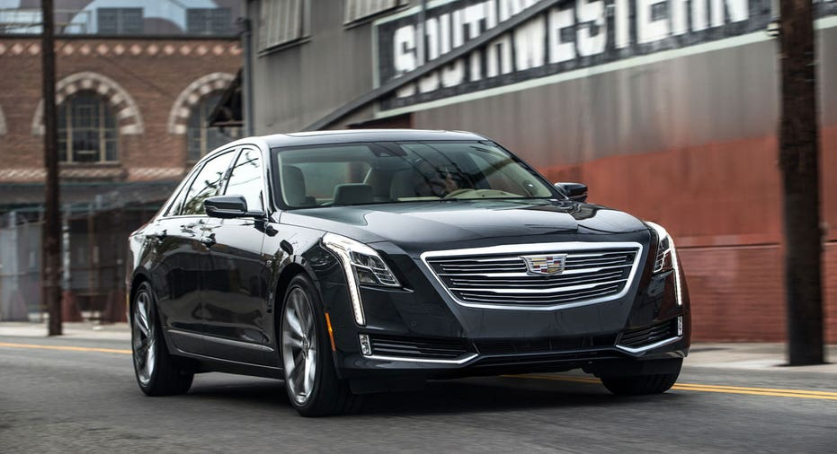 2018 Cadillac CT6 black FBN